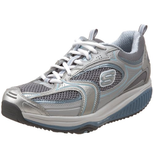 Skechers Women s Shape Ups XF Accelerators Lace-Up Fashion Sneaker 0cd8f916042