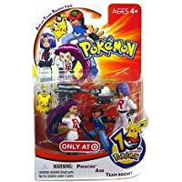 PokemonAsh vs Team Rocket Pack Figures