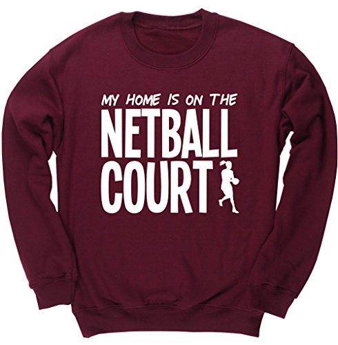 hippowarehouse-my-home-is-on-the-netball-court-kids-unisex-jumper-sweatshirt-pullover