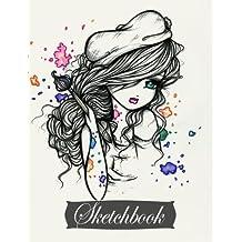 Sketchbook: Artist Girl (Full Size)