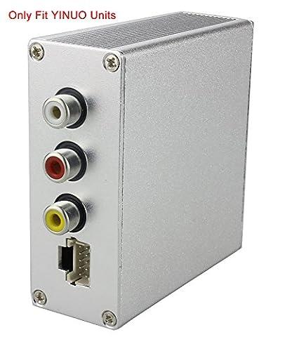 YINUO DVB-T2 Box Empfänger Receiver für Autoradio Moniceiver