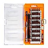 60 in1 Präzisions-Schraubenzieher, Reparatur Set Werkzeug Kit für Smartphones, Ipad, Iphones, tablets, Computer, Laptops, Uhren und andere elektronische Geräte.Unodeco U005