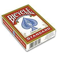 Bicycle playing cards blue back poker size