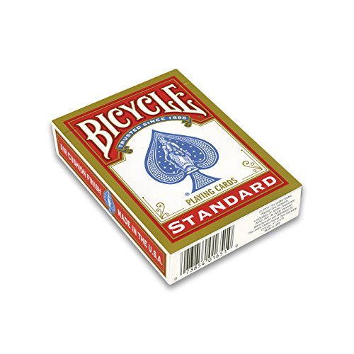 U.S.Playing Card Company, Bicycle Standard Kartenspielen, Farblich sortiert (Rot/blau)