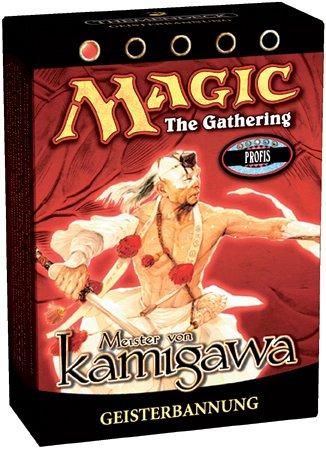 Magic: The Gathering - Meister von Kamigawa mit 61 Karten, Themendeck