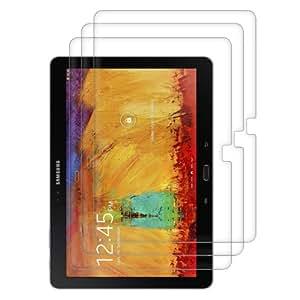3x kwmobile Folie für Samsung Galaxy Note 10.1 (2014) - klare Tablet Displayschutzfolie Crystal Clear Displayschutz kristallklar Displayfolie Schutzfolie