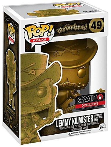 Gold Vinyl (Motörhead Lemmy Kilmister Rocks (Gold) Vinyl Figure 49 Sammelfigur Standard)