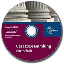 Gesetzessammlung Wirtschaft, 1 CD-ROM Gesetze für die kaufmännische Ausbildung. Einzellizenz