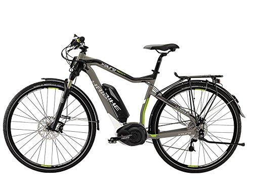 E-Bike Haibike XDURO Trekking PRO 400Wh/36V/250W 27-G 28\' Herren in darkgrey/lime Modell 2015, Rahmenhöhe:48
