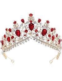 SADASD Matrimonio Gioielli di Lusso Strass Cristallo Barocco Sposa Corona  Corona di Accessori Stile Europeo Fascia 6aa782e41470