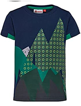 LEGO Wear Baby - Jungen T-Shirt Duplo Boy Tyler 606 - Sportliches Leuchtet im Dunkeln