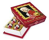 Reber Mozart-Barock 6 Kugeln Weihnachten, 4er Pack (4 x 120 g)