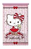 Gardine/Vorhang FCS L 7512, Hello Kitty, 140 x 245 cm, 1 teil