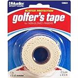 Mueller Golf Tape Griffband - Anti-Blasen Handschutz Golfzubehör Taping