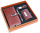Best Mans Gift - CrownLit 4 in 1 Leather Gift Set Review