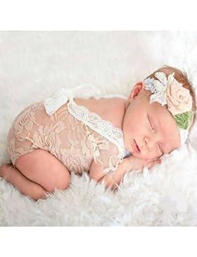 Mummyhug Neugeborenen niedlichen Baby Mädchen Fotografie Prop Weste Strampler mit Bowknot