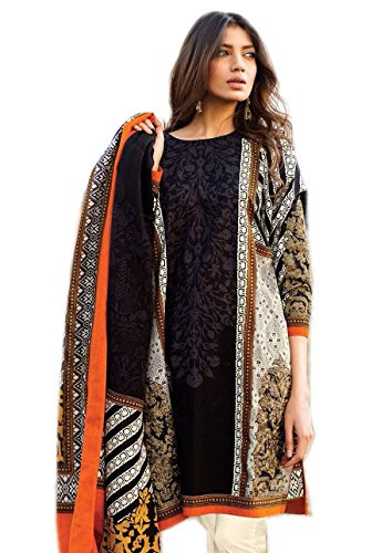Kashmira's pakistani embroidered cotton salwar kameez