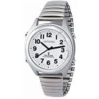 Verbalise Medication Reminder 5 Daily Alarm Radio Controlled Talking Watch with Expanding Strap