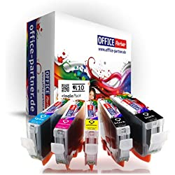 Pack 10 Canon compatible CLI-8 & PGI-5 Supérieure Qualité cartouches d'encre pour Canon PIXMA MP500 / MP510 / MP520 / MP530 / MP600 / MP600R / MP610 / MP800 / MP800R / MP810 / MP830 / MP960 / MP970 / MX700 / MX850 ; Ip3300 / Ip4200 / Ip4200x / Ip4300 / Ip4500 / Ip4500x / Ip5200 / Ip5200r / Ip5300 /Ip6600 / iP6600D