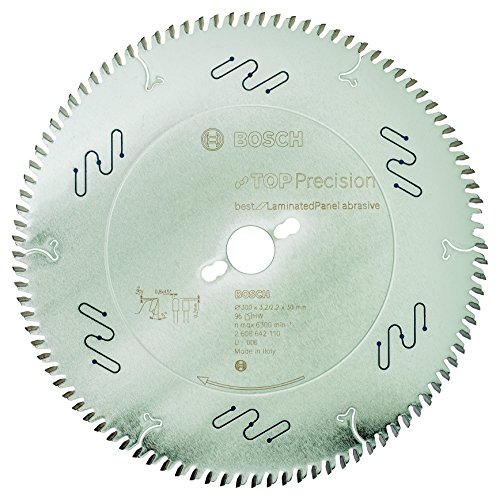Bosch Professional Kreissägeblatt (für Laminat, AußenØ: 300mm, Bohrung: 30mm, Zubehör für Format- und Tischkreissägen)