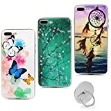 Lanveni Lot de 3 Coque iphone 7 Plus, iphone 8 Plus Soft Housse étui de Protection...