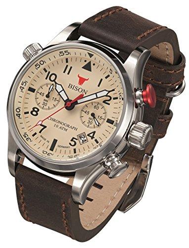 Armbanduhr Bison -No. 7- BI0007CR