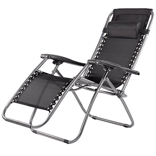 prima-heavy-duty-stainless-steel-folding-camping-garden-chair-black