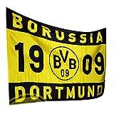 Borussia Dortmund Fahne / Flagge / Schwenkfahne / Flag groß 150 x 100 cm BVB 09
