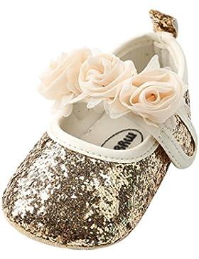 [Patrocinado]PAOLIAN Verano Cuero Zapatos Para Bebé Para Niña Princesa Calzado Zapatos de Niñito Zapatos de Primero Pasos Breathable...