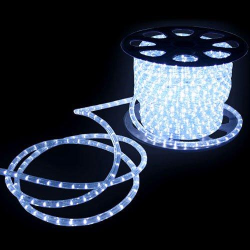 [mia.home®]230V LED Lichtschlauch 50m Lichterschlauch Weiss Innen/Außen 21220