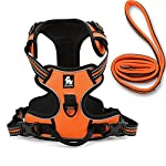 fiE FIT INTO EVERYWAY Range Of Front Side No Pull Dog Harness Outdoor Adventure 3M Reflective Pet Vest with Handle… 16
