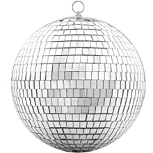 Mirror Ball -20CM Cool and Fun Silver Hanging Party Disco Ball