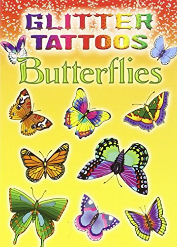 Glitter Tattoos Butterflies (Dover Tattoos)