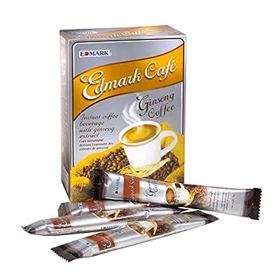 EDMARK GINSENG COFFEE Rejuvenates Body Strengthens Immune System Increases Longevity Finest Arabica Beans Korean Ginseng from EDMARK
