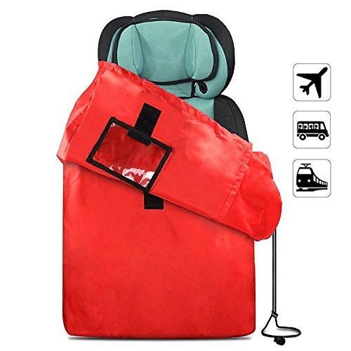 Preisvergleich Produktbild jtdeal Reisetasche mit Schultergurt für Kinderwagen und Klappstühle, wasserfest, Handtasche Speicherkapazität Notebook–Rot