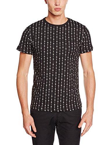Bellfield Herren T-Shirt B Billingford Schwarz (Black)