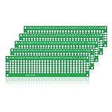Buon Prodotto LDTR-WG0032 / D1 Scheda Universale per PCB biadesivo 2 * 8cm in fibra di vetro per prototipi (5PCS)