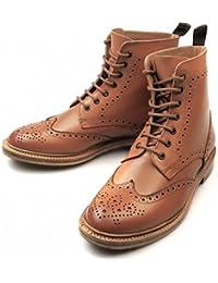 Fenside Country Clothing Botas de Piel Para Hombre Marrón Canela