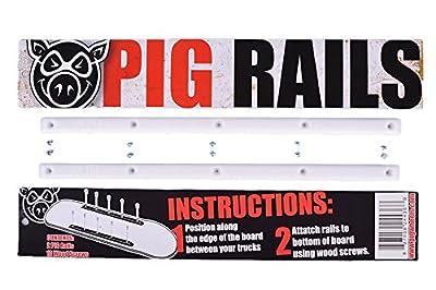 Pig Wheels white Rails