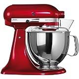Kitchenaid Artisan 5KSM150PSECA - Robot de cocina, color rojo [Importado de Alemania]