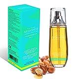 Ava Moritz - ARGASHINE+ Aceite de argán de Marruecos prensado en frío, elixir orgánico, espray de 100 ml - Pelo libre de enredos, Anti-envejecimiento, Previene las estrías y Cuidado de las uñas