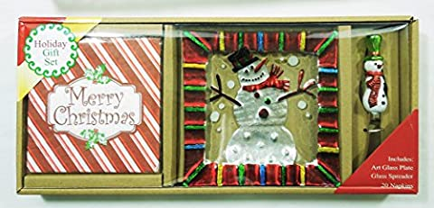 LS Arts Snowman Merry Christmas Snowman Hostess