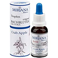 MirianaFlowers Crab Apple 20ml Bachblüten Stockbottle preisvergleich bei billige-tabletten.eu