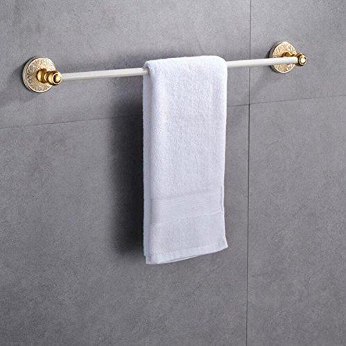 GuoEY Americana Spazio Bianco in Alluminio Portasciugamani Bar Mensola Dell'Asciugamano Di Alta Qualität & Schlimmer; Veranstalter Bad Storage Zubehör für Bad Regale Regale Badezimmer Wand montieren (Americana Regal)