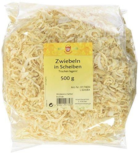 Wichartz Würzkönig Zwiebeln in Scheiben getrocknet, 3er Pack (3 x 500 g)