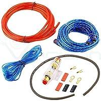 Juego de accesorios para montaje de amplificador cableado de audio para altavoz de graves car cableado cable