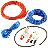 Best Cables de subwoofer - Juego de accesorios para montaje de amplificador cableado Review