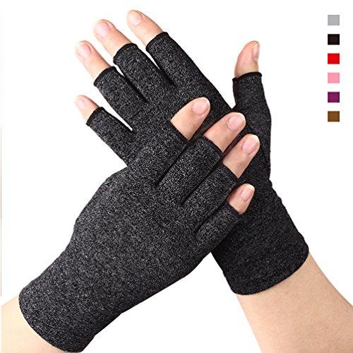 DISUPPO Anti-Arthritis Kompression Handschuhe Herren Damen Handgelenkbandage wirkt schmerlindernd bei Rheumatoide, Gardening, Karpaltunnel für Computer-Typisierung und tägliche Arbeit