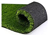 #10: Super India 35mm Pile Height Artificial Grass High Density, Soft and Durable Plastic Turf Carpet Mat For Balcony, 45 cm x 60 cm - 1 Piece