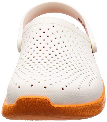 d33beda68fed Crocs Unisex Lite Ride Graphic White Orange Clogs - BEST ONLINE ...